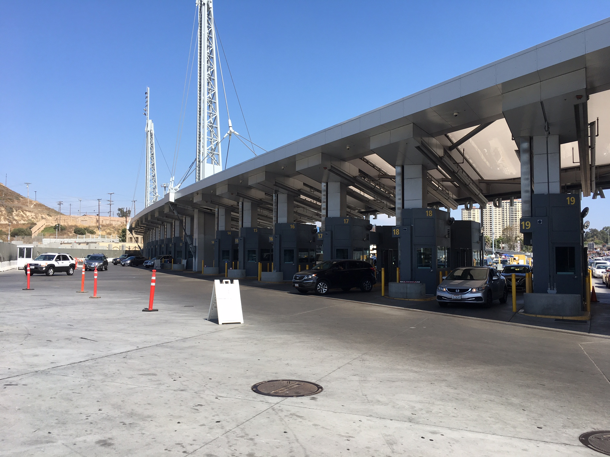Port Runner Suppression System - San Ysidro Port of Entry
